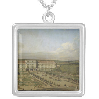 Schonbrunn Palace and gardens, 1759-61 Silver Plated Necklace