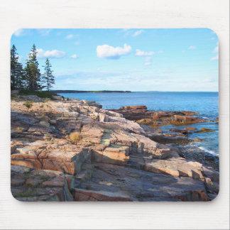 'Schoodic Shoreline' Mouse Pad