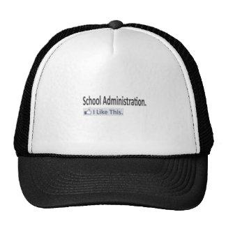 School Administration...I Like This Trucker Hats