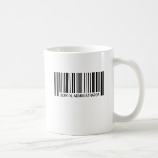 School Administrator Barcode Coffee Mug