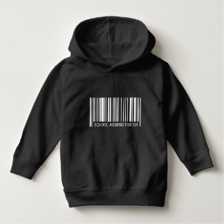 School Administrator Barcode Hoodie