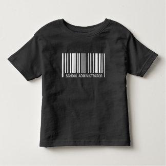 School Administrator Barcode Toddler T-shirt