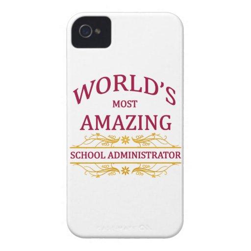 School Administrator Case-Mate iPhone 4 Case