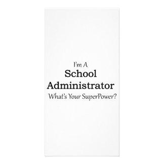 School Administrator Customized Photo Card