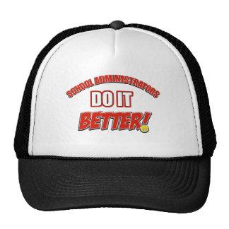 School Administrator job design Trucker Hat