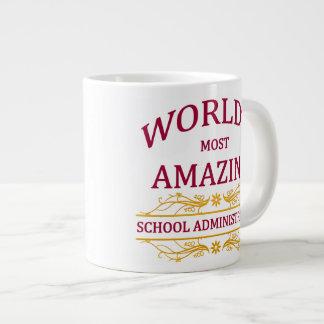 School Administrator Jumbo Mug