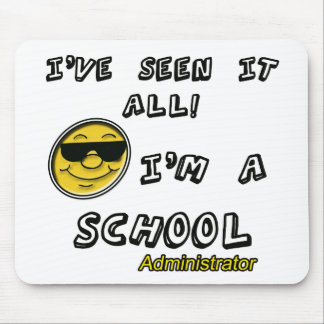 School Administrator Mouse Pad
