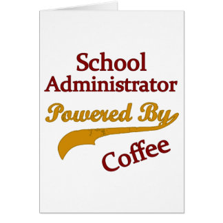 School Administrator Powered By Coffee Card
