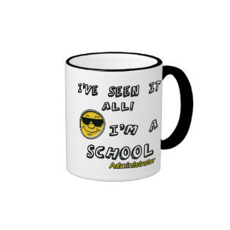 School Administrator Ringer Coffee Mug