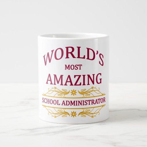 School Administrator Extra Large Mug