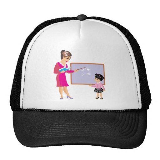 SCHOOL BACK TEACHER STUDENT PUPIL CUTE CARTOON HAT