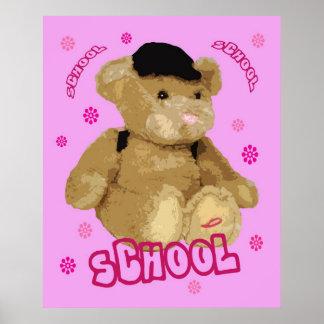School Bear Print