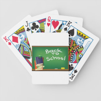 school board bicycle playing cards