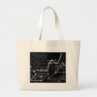 School board large tote bag