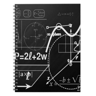 School board spiral note book
