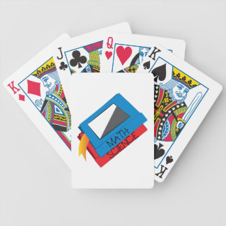 School Books Poker Deck