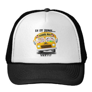 school bus2, Is it June..., YET?!? Trucker Hat