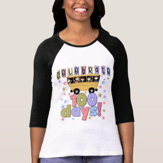 School Bus 100 Days Tshirts and Gifts