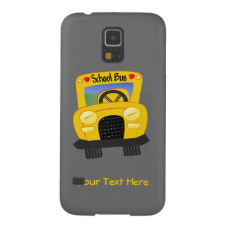 School Bus 2 (customizable) Cases For Galaxy S5