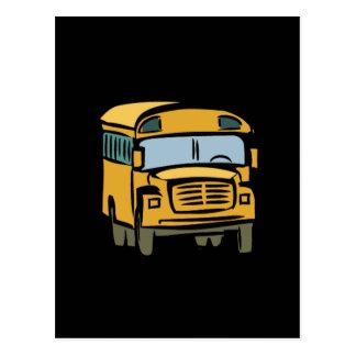 School Bus 2 Postcard