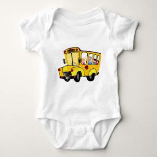 School Bus Baby Bodysuit