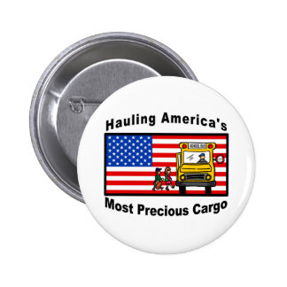 School Bus Button - Customized