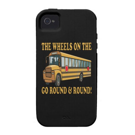 School Bus Vibe iPhone 4 Cover