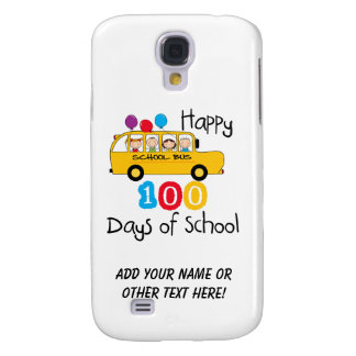 School Bus Celebrate 100 Days Galaxy S4 Covers