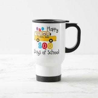 School Bus Celebrate 100 Days Mug