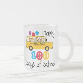 School Bus Celebrate 100 Days Coffee Mug