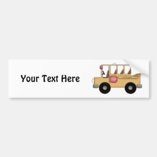 School Bus (Customizable) Bumper Sticker