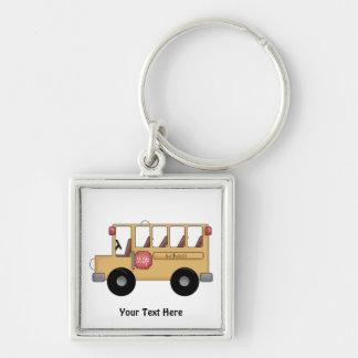School Bus (Customizable) Key Chains