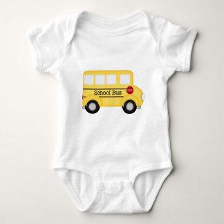 School Bus- driver Baby Bodysuit