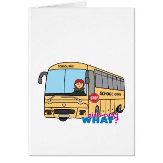 School Bus Driver Greeting Card