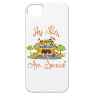 School bus driver My kids are special iPhone 5 Cases