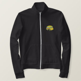 School Bus Embroidered Jacket
