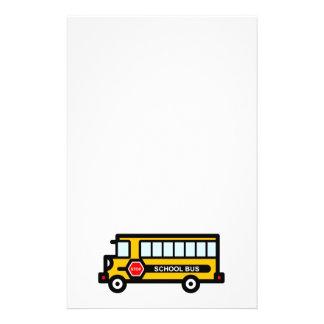 School bus flyer