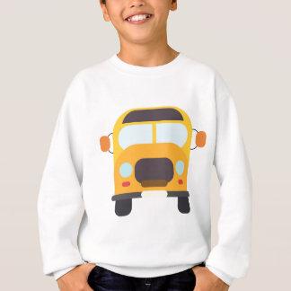 School Bus Front Sweatshirt