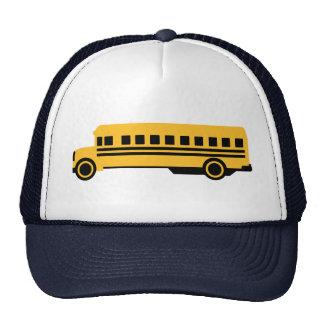 School bus mesh hats