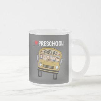 School Bus I Love Preschool Tshirts and Gifts Coffee Mug