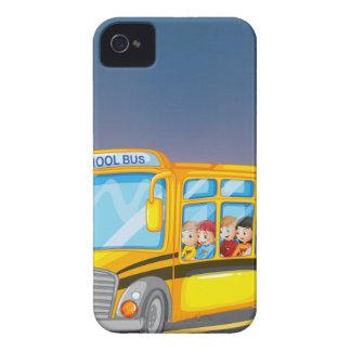 School bus iPhone 4 Case-Mate case