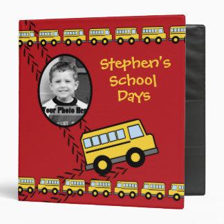 School Bus Keepsake Red with Photo Binders