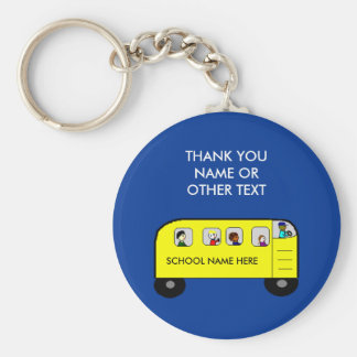 SCHOOL BUS - keychain