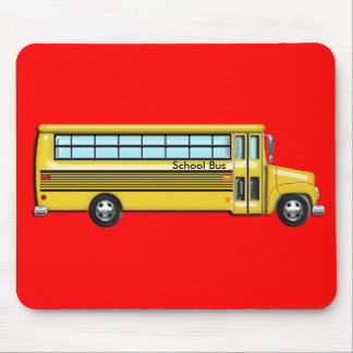 School Bus Mouse Pad