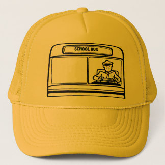 SCHOOL BUS TRUCKER HAT