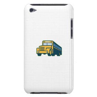 School Bus Vintage Retro Barely There iPod Cases