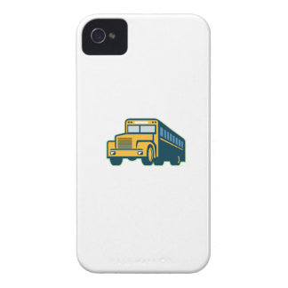 School Bus Vintage Retro iPhone 4 Case