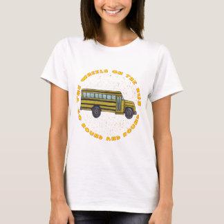 School Bus Wheels basic t-shirt