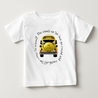 School Bus Wheels go Round Shirt