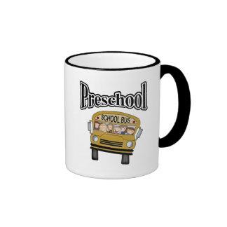 School Bus with Kids Preschool Coffee Mug